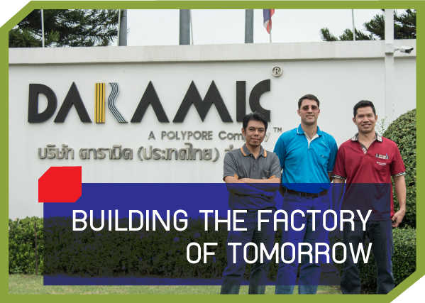 BUILDING THE FACTORY OF TOMORROW